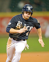 Rice Owl Chad Mozingo against the Texas Longhorns on Friday March 5th, 2100 at the Astros College Classic in Houston's Minute Maid Park.  (Photo by Andrew Woolley / Four Seam Images)