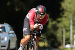 Thomas De Gendt (BEL) Lotto-Soudal in action during Stage 10 of La Vuelta 2019 an individual time trial running 36.2km from Jurancon to Pau, France. 3rd September 2019.<br /> Picture: Colin Flockton | Cyclefile<br /> <br /> All photos usage must carry mandatory copyright credit (© Cyclefile | Colin Flockton)