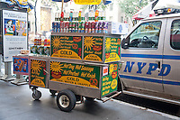 Pretzel Food Stand New York City