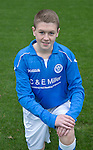 St Johnstone FC Academy U17's<br /> Kier McAuley<br /> Picture by Graeme Hart.<br /> Copyright Perthshire Picture Agency<br /> Tel: 01738 623350  Mobile: 07990 594431