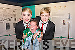 Fans meeting Jedward at the back stage at Denny Street stage in the Kerry County Museum on Friday.