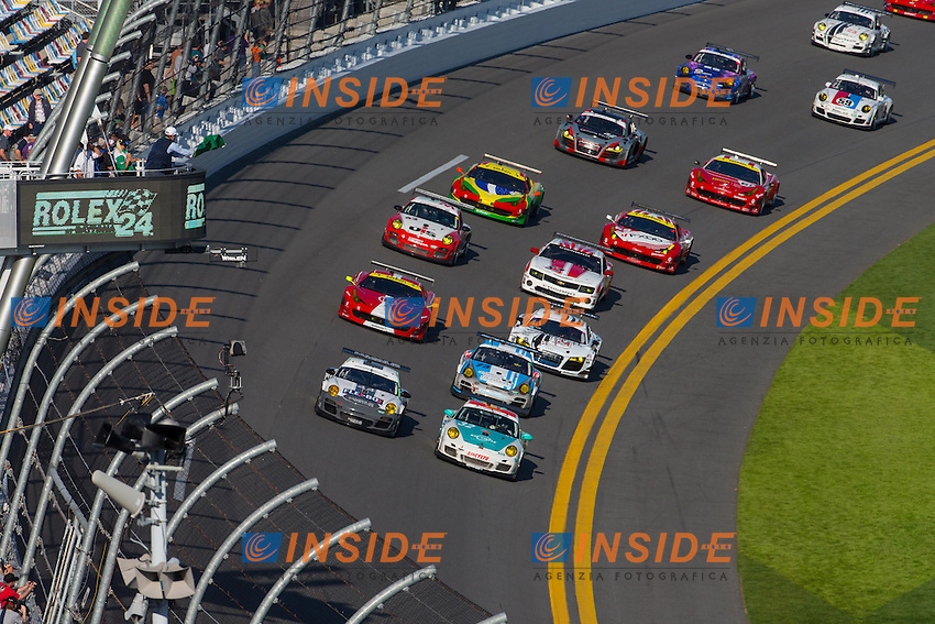 Generale Stock.27/1/2013 Daytona.Automobilismo Grand AM 24h di Daytona .Foto Andrew Hall / Vision Sport / Panoramic / Insidefoto.ITALY Only