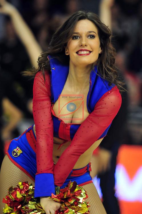 Euroleague Basketball-Top 16 Round: 04.<br /> FC Barcelona vs Unicaja Malaga: 83-79.<br /> Dream Cheers.