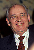 Montreal (Qc) CANADA, March 28, 1993 file -<br /> <br /> Mikhael Gorbatchev<br /> <br /> <br /> <br /> <br /> photo (c) Pierre Roussel -  Images Distribution