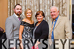 John Wilmott, Jacinta McMahon,Noreen McMahon and Johnny McMahon from Lismore attending the Lee Strand Social on Saturday night in the Pavilion In Ballygarry House Hotel.