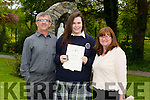 Pictured at the Presentation Secondary school, Tralee, graduation on Friday were Jerry,claire and Marguerite O'Shea