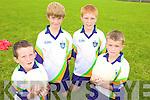 SKILLS: Learning new skills at the VHI GAA Cu?l Camp in Ballybunion last week were, l-r: Philip Byrne, Jack Keane, Kieran Dowd, Aidan Long.