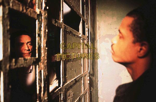LUIZ CARLOS VASCONCELOS & AILTON GRACA.in Carandiru.directed by Hector Babenco.Filmstill - Editorial Use Only.Ref: FB.sales@capitalpictures.com.www.capitalpictures.com.Supplied by Capital Pictures...