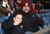 Burnley Fans at the start of todays match<br /> <br /> Photographer Rachel Holborn/CameraSport<br /> <br /> The Premier League - Burnley v Newcastle United - Monday 26th November 2018 - Turf Moor - Burnley<br /> <br /> World Copyright © 2018 CameraSport. All rights reserved. 43 Linden Ave. Countesthorpe. Leicester. England. LE8 5PG - Tel: +44 (0) 116 277 4147 - admin@camerasport.com - www.camerasport.com