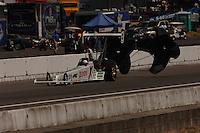 NHRA top alcohol dragster driver Ashley Force Pacific Raceways Seattle Washington Mandatory credit: Mark J. Rebilas