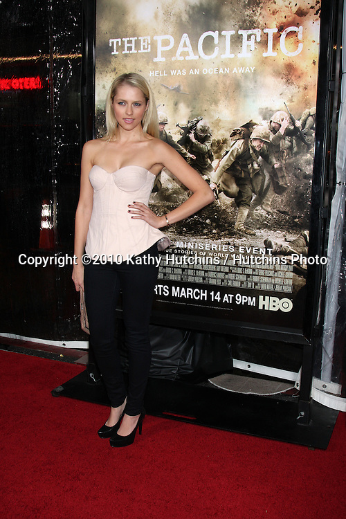 "Teresa Palmer .arriving at HBO's ""The Pacific"" Premiere Screening .Mann's Chinese Theater.Los Angeles, CA.February 24, 2010.©2010 Kathy Hutchins / Hutchins Photo...."