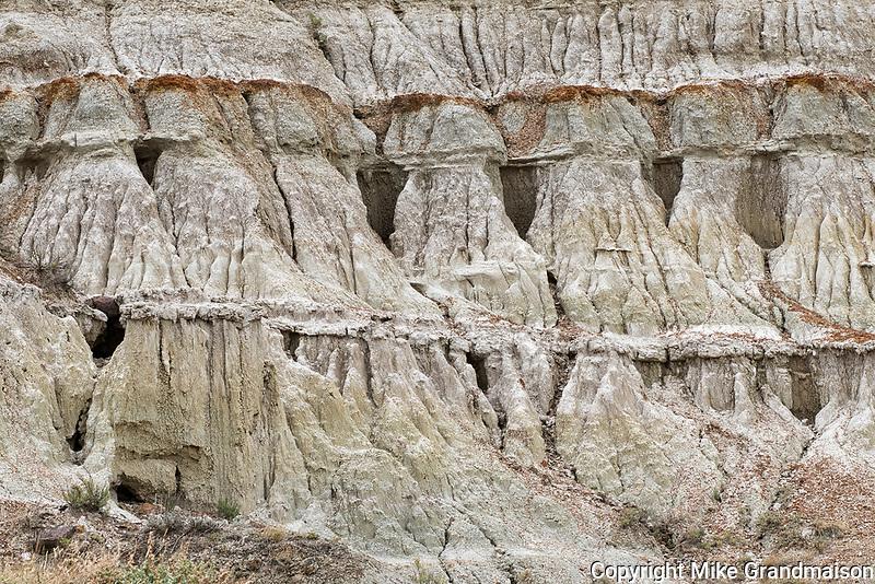 Badlands. Unesco World Heritage SIte<br />Dinosaur Provincial Park<br />Alberta<br />Canada