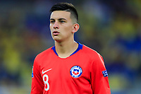 PEREIRA, COLOMBIA - JANUARY 18: Chile's Nicolas Diaz during their CONMEBOL Preolimpico soccer game against Ecuador at the Hernan Ramirez Villegas Stadium on January 18, 2020 in Pereira, Colombia. (Photo by Daniel Munoz/VIEW press/Getty Images)