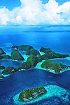 Aerials of Palau