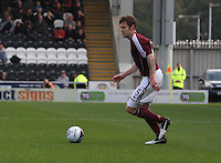 Darren Barr in the St Mirren v Heart of Midlothian Clydesdale Bank Scottish Premier League match played at St Mirren Park, Paisley on 15.9.12.