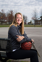 NWA Democrat-Gazette/JASON IVESTER<br /> Kimberly Jenkins of Valley Springs; Division II girls coach of the year; photographed on Wednesday, March 15, 2017, outside Jones Center in Springdale for All-NWADG Team