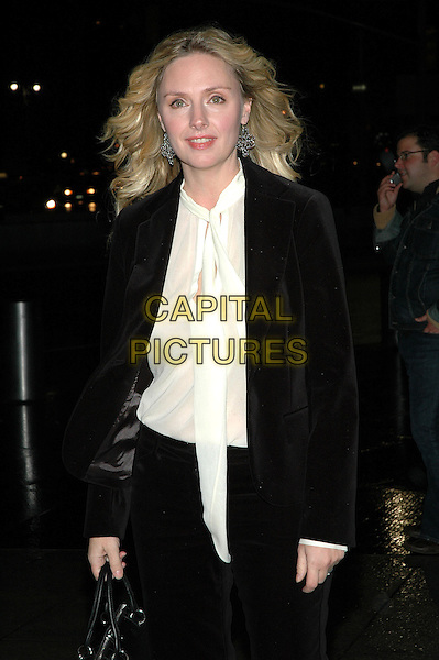 "HOPE DAVIS.The premiere of his new film, ""The Weather Man"" at the Frederick P. Rose Hall at Lincoln Center in Manhattan, New York, New York..October 24th, 2005.Photo Credit: Patti Ouderkirk/AdMedia/Capital Pictures.Ref: PO/ADM.half length brown suit jacket white scarf.www.capitalpictures.com.sales@capitalpictures.com.© Capital Pictures."