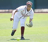 STANFORD, CA - April 30, 2011:  Maya Burns before Stanford's 7-1 loss to Washington at Stanford, California on April 30, 2011.