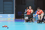 November 16 2011 - Guadalajara, Mexico: in the Multipurpose Gymnasium Revolución at the 2011 Parapan American Games in Guadalajara, Mexico.  Photos: Matthew Murnaghan/Canadian Paralympic Committee