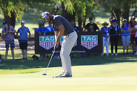 James Nitties (AUS) in action on the 3rd during the Matchplay Final of the ISPS Handa World Super 6 Perth at Lake Karrinyup Country Club on the Sunday 11th February 2018.<br /> Picture:  Thos Caffrey / www.golffile.ie<br /> <br /> All photo usage must carry mandatory copyright credit (&copy; Golffile   Thos Caffrey)