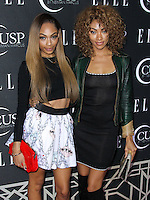 HOLLYWOOD, LOS ANGELES, CA, USA - APRIL 22: Shayne Murphy, Bria Murphy at the 5th Annual ELLE Women In Music Concert Celebration presented by CUSP by Neiman Marcus held at Avalon on April 22, 2014 in Hollywood, Los Angeles, California, United States. (Photo by Xavier Collin/Celebrity Monitor)