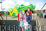 Enjoying the BALLYSEEDY Home and Gardens annual Family Fun Weekend in aid of Down Syndrome Kerry were Ciara Bertozzi, Ede Dunne Trafny, Aidan Bertozzi, Elsa Bertozzi, Tara Dunne Trafny and Dean Dunne Horgan from Clahane with cousins from Massachusetts