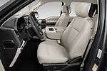 Front seat view of a 2020 Ford F-150 XLT 4 Door Pick Up front seat car photos