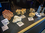 Mineral collections, Friday at the 80th Amador County Fair, Plymouth, Calif.<br /> .<br /> .<br /> .<br /> .<br /> #AmadorCountyFair, #1SmallCountyFair, #PlymouthCalifornia, #TourAmador, #VisitAmador