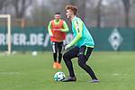 14.04.2018, Trainingsgelaende, Bremen, GER, 1.FBL, Training SV Werder Bremen<br /> <br /> im Bild<br /> Joshua Sargent (Werder Bremen #), <br /> <br /> Foto &copy; nordphoto / Ewert