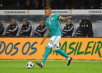 Jerome Boateng (Deutschland Germany) ist Mannschaftskapitän - 27.03.2018: Deutschland vs. Brasilien, Olympiastadion Berlin