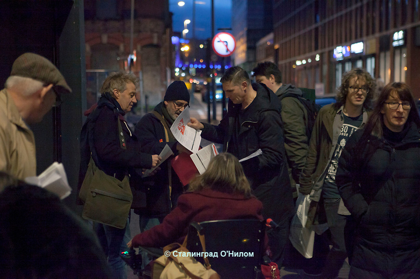 Len McCluskey, Election Rally, Bromsgrove St, Birmingham, 22nd Feb 17