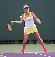 ELINA SVITOLINA (UKR), ALIZE CORNET (FRA) <br /> <br /> <br /> Tennis - MIAMI OPEN 2015 - ATP 1000 - WTA Premier -  Crandon park Tennis Centre  - Miami - United States of America - 2015<br /> &copy; AMN IMAGES