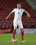 England's James Ward-Prowse in action during the Under 21 International Friendly match at the St Mary's Stadium, Southampton. Picture date November 10th, 2016 Pic David Klein/Sportimage