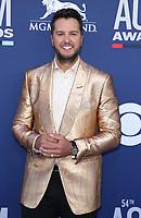 07 April 2019 - Las Vegas, NV - Luke Bryan. 2019 ACM Awards at MGM Grand Garden Arena, Arrivals. Photo Credit: mjt/AdMedia