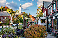 Charming town of Peterborough, New Hampshire, USA