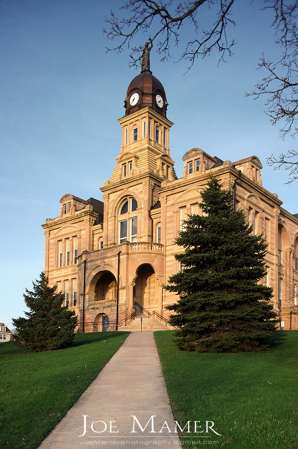 Blue Earth County courthouse in Mankato, Minnesota.