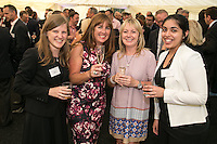 A smile from the ladies - pictured from left are Megan Kirby of Gateley Plc, Sue Parker and Senga Allan both of IPS Product Supplies and Harprit Kaur of Gateley Plc