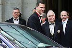 18.06.2012. Prince Felipe of Spain and the president of Supreme Court Carlos Divar attend the bicentennial of the creation of the Supreme Court in at Supreme Court. In the image Alberto Ruiz Gallardon, Prince Felipe of Spain and Carlos Divar(Alterphotos/Marta Gonzalez)