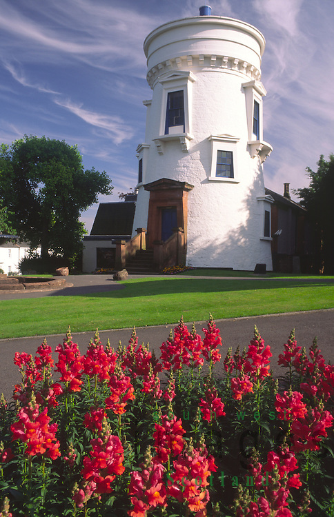 Summer at the Observatory or Dumfries Museum and Camera Obscura in Dumfries Scotland UK
