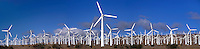 920000006 panoramic view of a large wind turbine farm outside of mojave in kern county california