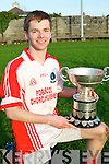 Pádfraig Ó Dubháin (Capt)  Pobal Scoil Chorcha Dhuibhne defeated St Brendan,s Killarney  with the O'Sullivan Cup on Wednesday.