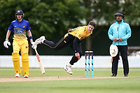 Wellington's Hamish Bennett bowls during the Wellington Firebirds v Otago Volts, Ford Trophy One Day match round five at Bert Sutcliffe Oval in Lincoln, New Zealand on Friday, 29 November 2019. Photo: Martin Hunter / lintottphoto.co.nz