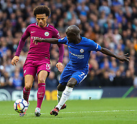 N'Golo Kante of Chelsea and Leroy Sane of Manchester City <br /> Calcio Chelsea - Manchester City Premier League <br /> Foto Phcimages/Panoramic/insidefoto