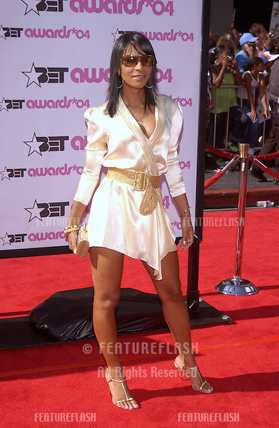 TEEDRA MOSES at the 2004 BET (Black Entertainment TV) Awards at the Kodak Theatre, Hollywood..June 29, 2004