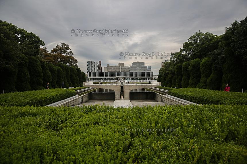 Museo della Pace visto dai giardini