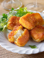 Deep fried camembert