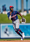 2 March 2019: Minnesota Twins top prospect infielder Nick Gordon in action during a Spring Training game against the Washington Nationals at the Ballpark of the Palm Beaches in West Palm Beach, Florida. The Twins fell to the Nationals 10-6 in Grapefruit League play. Mandatory Credit: Ed Wolfstein Photo *** RAW (NEF) Image File Available ***