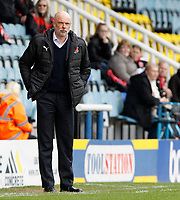 Fleetwood Town manager Uwe Rosler  looks on from the dugout<br /> <br /> Photographer David Shipman/CameraSport<br /> <br /> The EFL Sky Bet League One - Peterborough United v Fleetwood Town - Friday 14th April 2016 - ABAX Stadium  - Peterborough<br /> <br /> World Copyright &copy; 2017 CameraSport. All rights reserved. 43 Linden Ave. Countesthorpe. Leicester. England. LE8 5PG - Tel: +44 (0) 116 277 4147 - admin@camerasport.com - www.camerasport.com