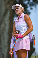 Lexi Thompson (USA) reacts to her tee shot on 10 during round 3 of the 2019 US Women's Open, Charleston Country Club, Charleston, South Carolina,  USA. 6/1/2019.<br /> Picture: Golffile | Ken Murray<br /> <br /> All photo usage must carry mandatory copyright credit (© Golffile | Ken Murray)