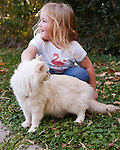 20101008 Ragdoll Cat on Leash